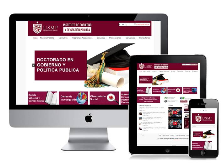 Instituto de Gestión de Gobierno y Gestión Pública – USMP